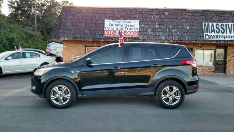 2015 Ford Escape for sale at Kenny's Korner in Hartland MI
