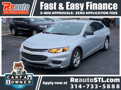 2017 Chevrolet Malibu for sale at Reauto in Saint Louis MO