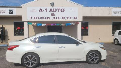 2016 Nissan Altima for sale at A-1 AUTO AND TRUCK CENTER in Memphis TN
