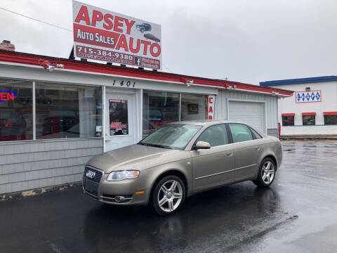 2006 Audi A4 for sale at Apsey Auto in Marshfield WI