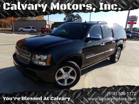 2013 Chevrolet Suburban for sale at Calvary Motors, Inc. in Bixby OK