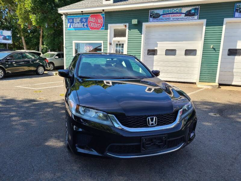 2015 Honda Accord for sale at Bridge Auto Group Corp in Salem MA
