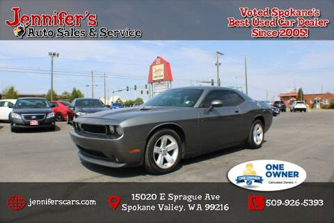 2012 Dodge Challenger for sale at Jennifer's Auto Sales in Spokane Valley WA