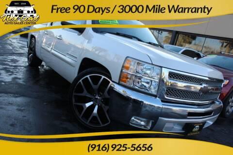 2012 Chevrolet Silverado 1500 for sale at West Coast Auto Sales Center in Sacramento CA