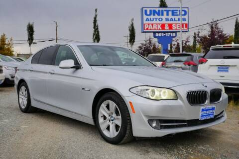 2013 BMW 5 Series for sale at United Auto Sales in Anchorage AK