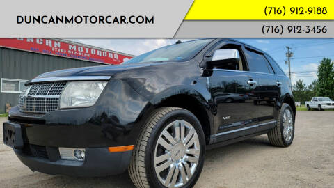 2010 Lincoln MKX for sale at DuncanMotorcar.com in Buffalo NY