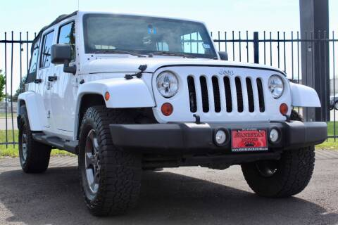 2012 Jeep Wrangler Unlimited for sale at Avanesyan Motors in Orem UT