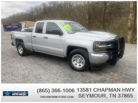 2018 Chevrolet Silverado 1500 for sale at Union Motors in Seymour TN