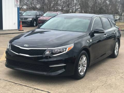2017 Kia Optima for sale at Discount Auto Company in Houston TX