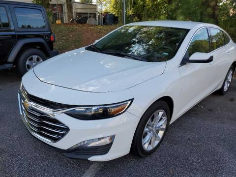 2020 Chevrolet Malibu for sale at THE TRAIN AUTO SALES & LEASING in Mauldin SC