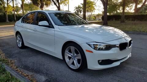 2014 BMW 3 Series for sale at DELRAY AUTO MALL in Delray Beach FL