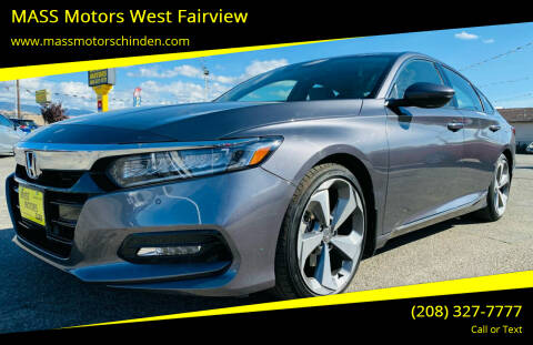 2018 Honda Accord for sale at M.A.S.S. Motors - West Fairview in Boise ID