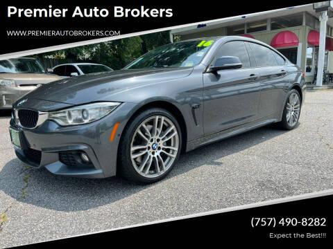 2016 BMW 4 Series for sale at Premier Auto Brokers in Virginia Beach VA