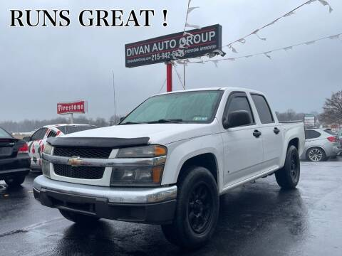 2006 Chevrolet Colorado for sale at Divan Auto Group in Feasterville PA