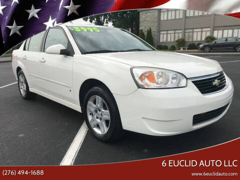 2006 Chevrolet Malibu for sale at 6 Euclid Auto LLC in Bristol VA