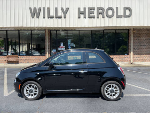 2015 FIAT 500 for sale at Willy Herold Automotive in Columbus GA