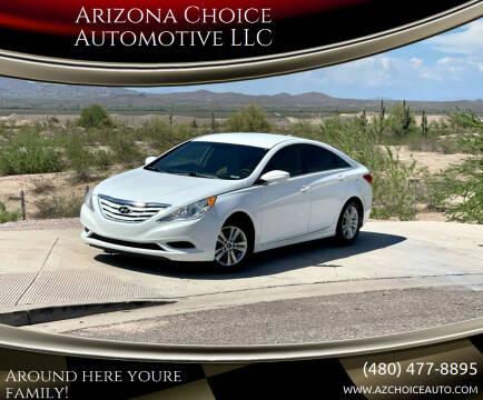 2013 Hyundai Sonata for sale at Arizona Choice Automotive LLC in Mesa AZ