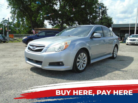 2012 Subaru Legacy for sale at J & F AUTO SALES in Houston TX