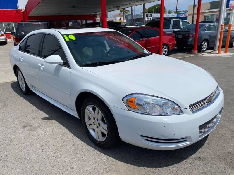 2014 Chevrolet Impala Limited for sale at North County Auto in Oceanside CA
