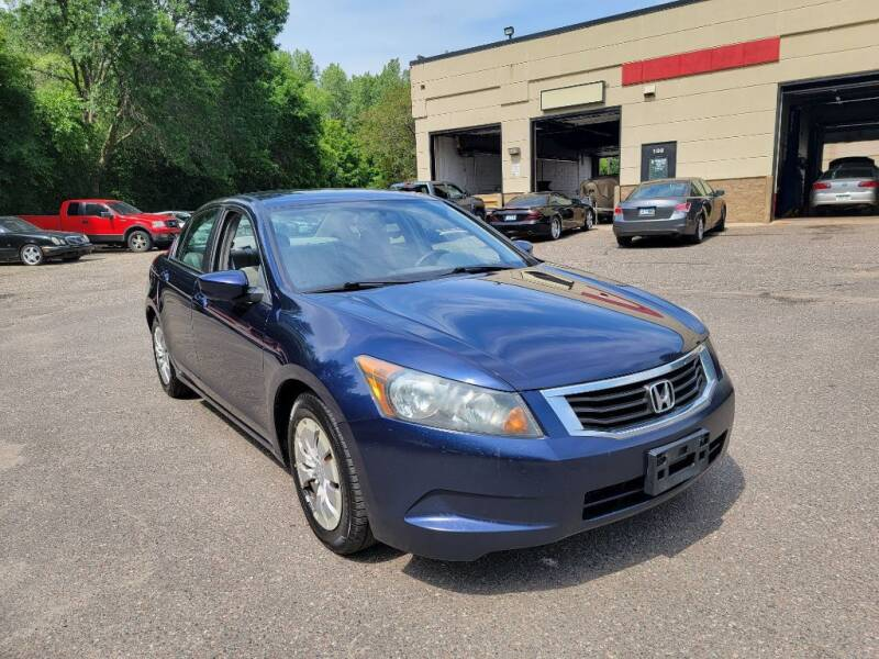 2009 Honda Accord for sale at Fleet Automotive LLC in Maplewood MN
