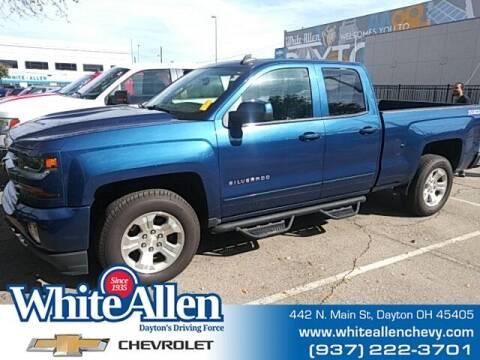 2017 Chevrolet Silverado 1500 for sale at WHITE-ALLEN CHEVROLET in Dayton OH