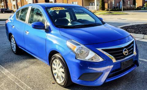 2015 Nissan Versa for sale at Richmond Auto Sales LLC in Richmond VA