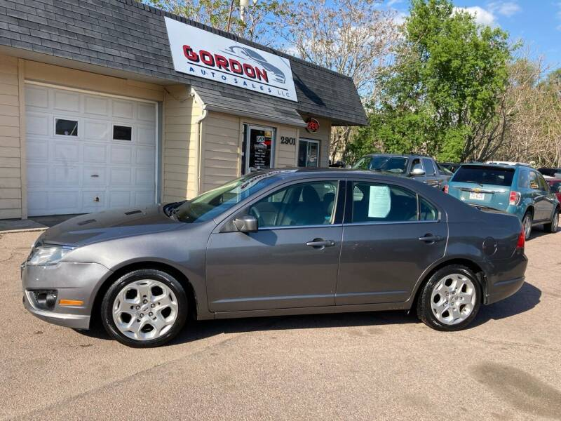 2010 Ford Fusion for sale at Gordon Auto Sales LLC in Sioux City IA