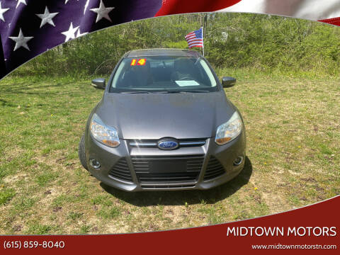 2014 Ford Focus for sale at Midtown Motors in Greenbrier TN