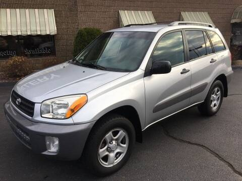 2003 Toyota RAV4 for sale at Depot Auto Sales Inc in Palmer MA