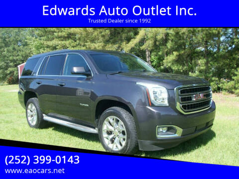 2015 GMC Yukon for sale at Edwards Auto Outlet Inc. in Wilson NC