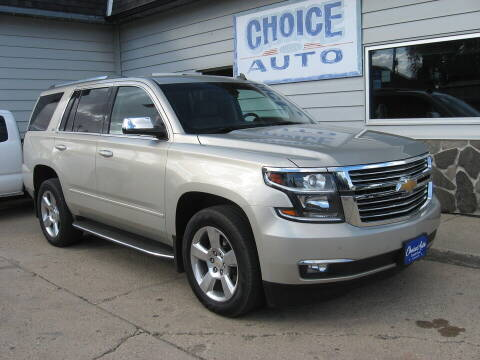 2015 Chevrolet Tahoe for sale at Choice Auto in Carroll IA