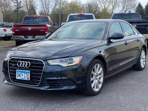 2014 Audi A6 for sale at North Imports LLC in Burnsville MN