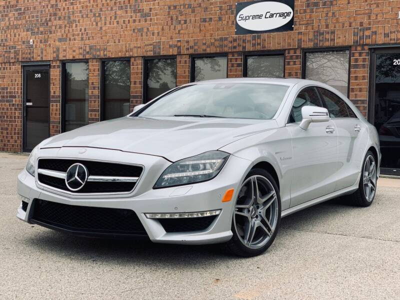 2012 Mercedes-Benz CLS for sale at Supreme Carriage in Wauconda IL