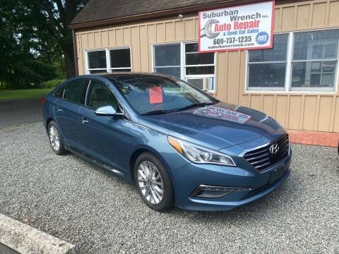 2015 Hyundai Sonata for sale at Suburban Wrench in Pennington NJ