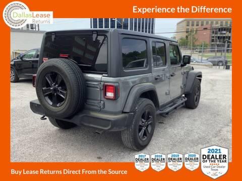 2019 Jeep Wrangler Unlimited for sale at Dallas Auto Finance in Dallas TX