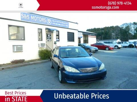2005 Toyota Camry for sale at S & S Motors in Marietta GA