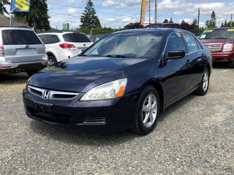 2007 Honda Accord for sale at A & V AUTO SALES LLC in Marysville WA