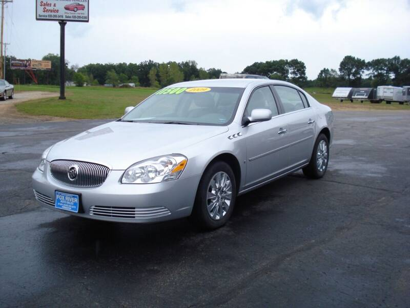 2009 Buick Lucerne for sale at Fox River Auto Sales in Princeton WI