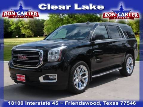 2017 GMC Yukon for sale at Ron Carter  Clear Lake Used Cars in Houston TX