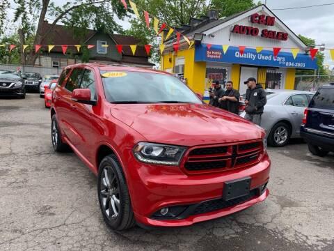 2018 Dodge Durango for sale at C & M Auto Sales in Detroit MI
