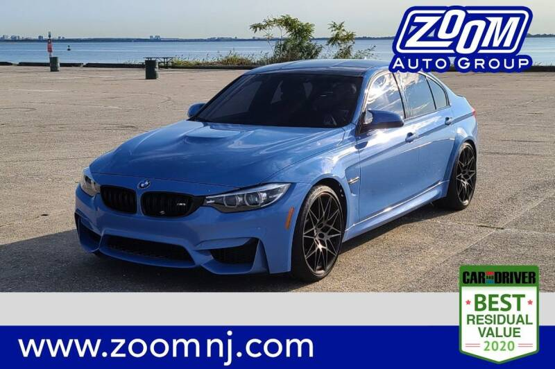 2018 BMW M3 for sale at Zoom Auto Group in Parsippany NJ