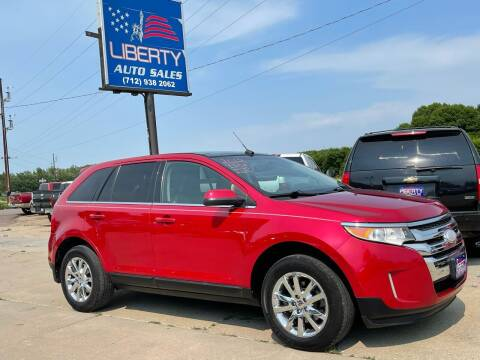 2012 Ford Edge for sale at Liberty Auto Sales in Merrill IA