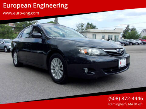 2011 Subaru Impreza for sale at European Engineering in Framingham MA