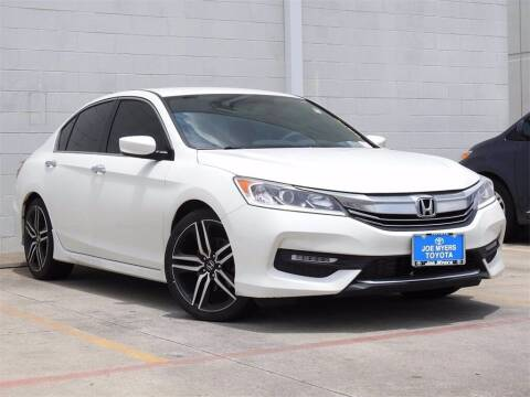 2017 Honda Accord for sale at Joe Myers Toyota PreOwned in Houston TX