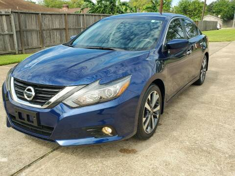 2017 Nissan Altima for sale at MOTORSPORTS IMPORTS in Houston TX