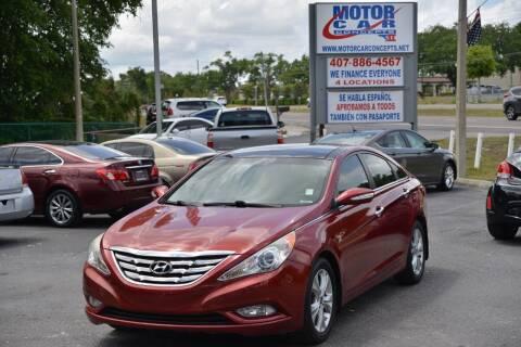 2013 Hyundai Sonata for sale at Motor Car Concepts II - Apopka Location in Apopka FL