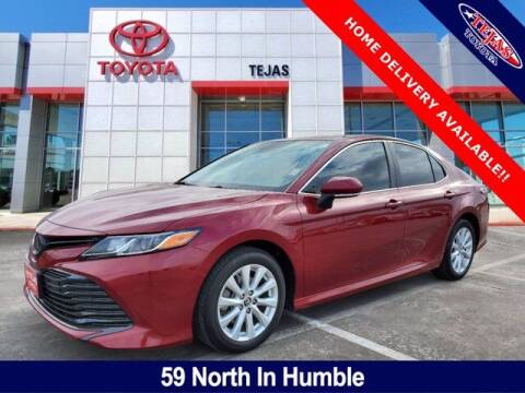 2019 Toyota Camry for sale at TEJAS TOYOTA in Humble TX
