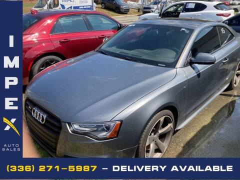 2015 Audi S5 for sale at Impex Auto Sales in Greensboro NC