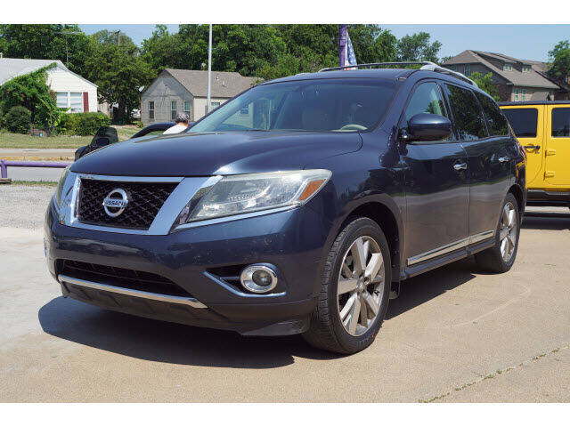 2015 Nissan Pathfinder for sale at Watson Auto Group in Fort Worth TX