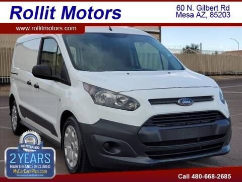 2015 Ford Transit Connect Cargo for sale at Rollit Motors in Mesa AZ
